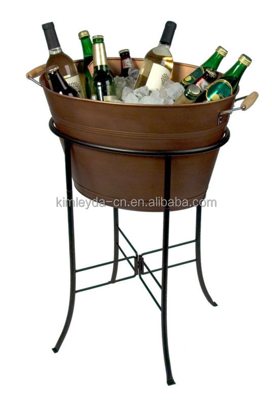 bronze buckets medium copper beverage colt ice champagne dp amazon finish com and tub brekx bucket kitchen drink ac wine