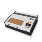 Small desktop wooden phone case 40w laser engraver 4040 for sale