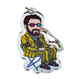 Funny promotional gifts custom acrylic keychain