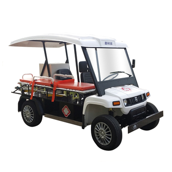 Newest China Convenient Economical Golf Cart Type Electric Ambulance