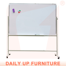 Magnetic Moving White Board Moveable Bulletin Board Dry Erase Writting Board for Office Classroom Furniture