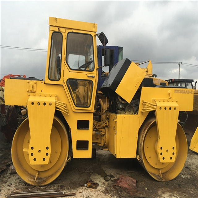 Used Bomag Bw202ad-2 Road Roller with cheap price, Bw202ad Double Drum Roller with good quality, Used Bomag
