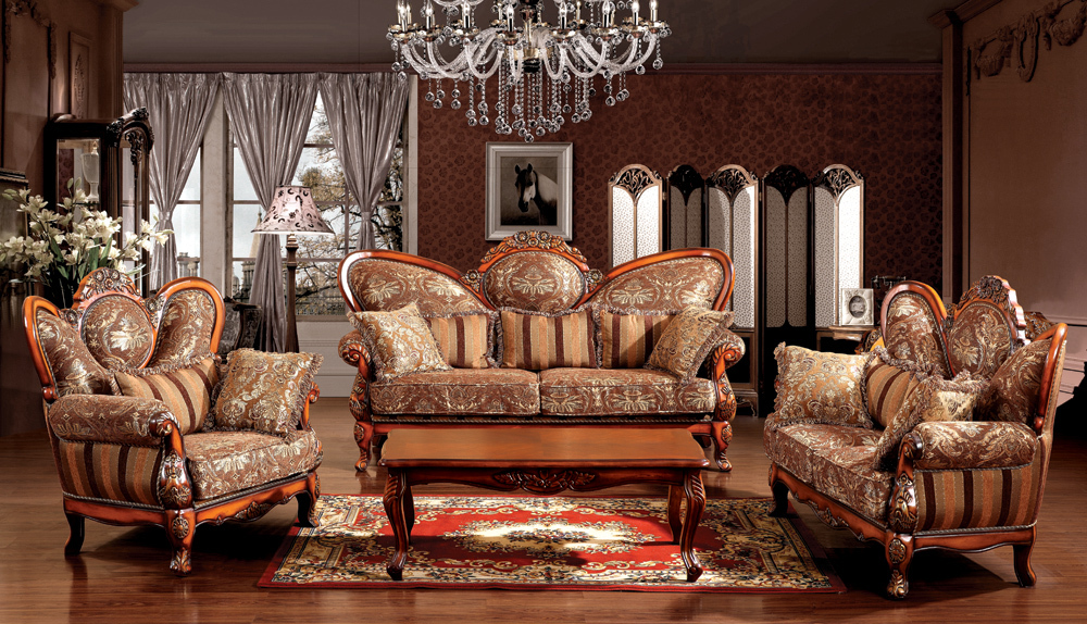 Living Room Furniture European Style Zion Star
