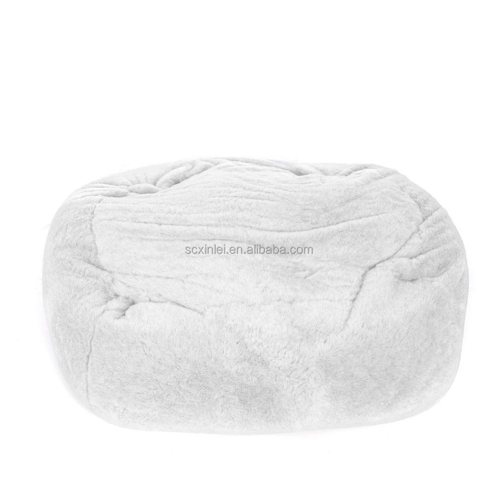 Faux Fur Beanbag Flokati Bean Bag