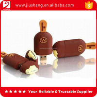 Bulk promotional pvc transcend usb 2.0 flash driver with bead chain