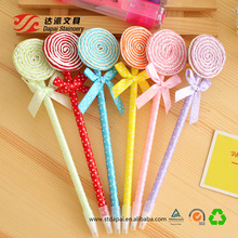 Specials Free Sample Multicolor Creative Cute Lollipops Ball Point Pen For School