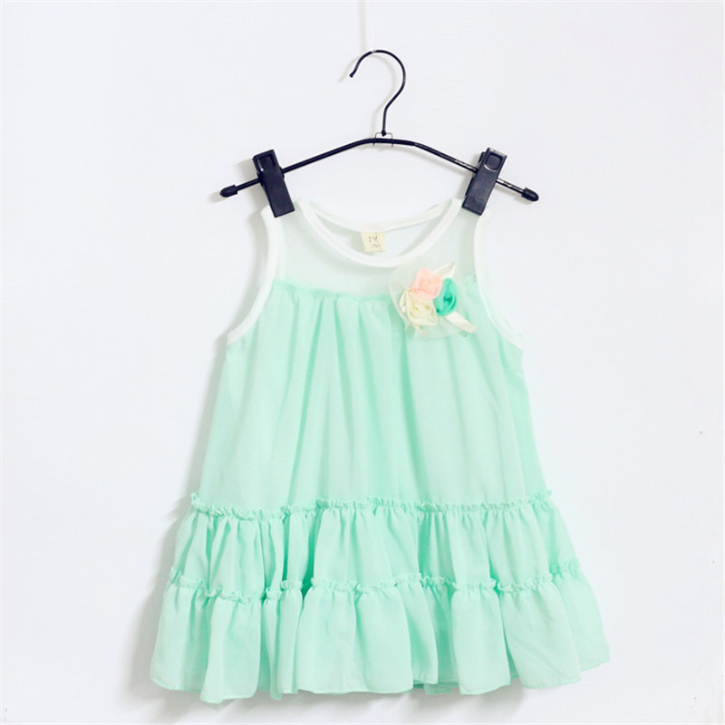 New Hot Princess Dress Girl Bebes Birthday Tutu Dresses For Girls Vestidos Infantis Kids Clothes 2015 Summer Vetement Enfant Hot