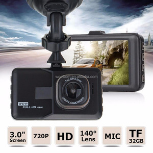 HD Dash Cam Front and Rear Camera with Full HD1080 170 Degree Wide Angle car black box