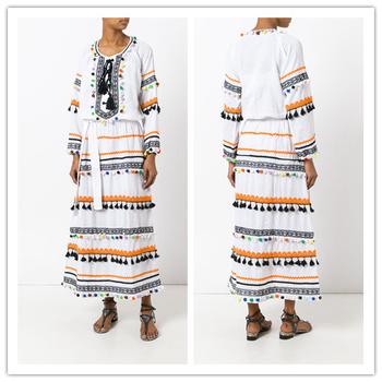 70d9ddb00d Punjabi Girls in Suit Pakistani Ladies Kurta Designs Pom Pom Fringe Dress  hsd2137