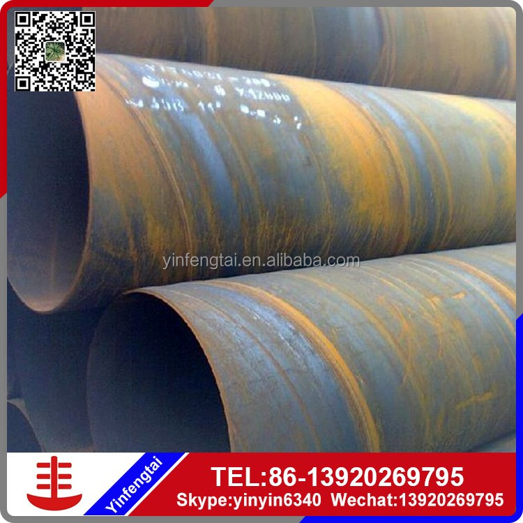 API 5L / ASTM A252 Q345B submerge arc pipe/ Spiral Steel Piling Pipes