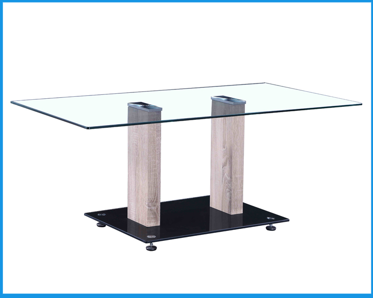 Modern Mdf Temper Glass Coffee Table Buy Modern Mdf Coffee Table Product On