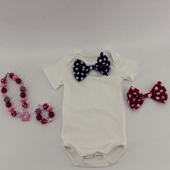 Singapore Boys Short Sleeve Pima Cotton Baby Clothing Plain Baby