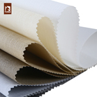 Linen and polyester window shades roller blinds fabric