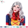 Styler Brand female vampire style wigs cheap gray synthetic hair manufacturer halloween wig