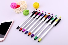Cheapest price top quality clean the screen Touch Screen Ball Pen logo printing