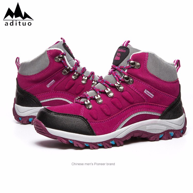 Professional Custom Comfortable Women Hiking Boots
