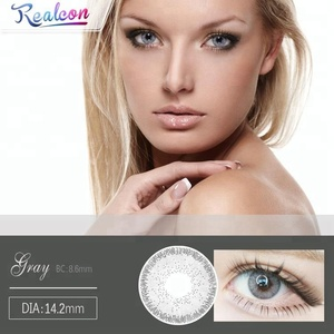 China Supplier geo color contact lenses chocolate funky vision eye accessories
