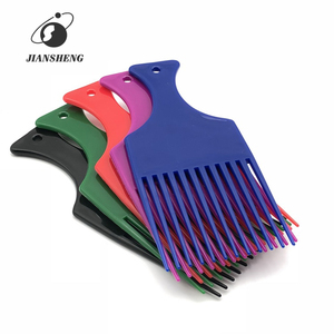 High Quality Plastic Afro Hair Comb Wholesale