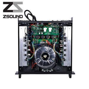 Class H 1000w professional high power amplifier