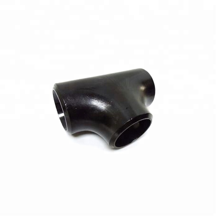 ANSI B16.9 A234 WPB carbon steel pipe fitting tee