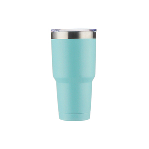 Double Walled Vacuum Travel Mug Set for Home & Outdoor Use Stainless Steel Tumbler With Straw
