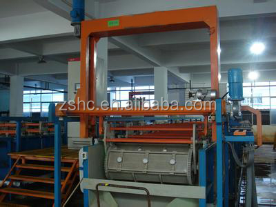 Electroplating equipment, Barrel zinc plating machine