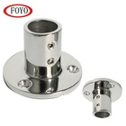 Stainless Steel Boat Top Fittings Stainless Steel Round Base Fitting 90 Degree