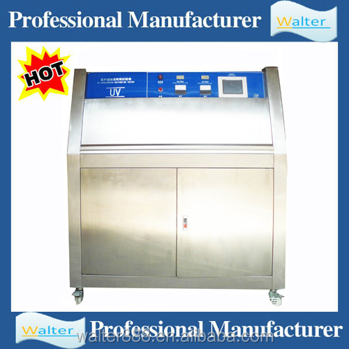 Accelerated weathering testing equipment/UV light resistance testing machine/UV light chamber price