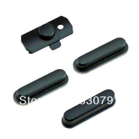 10 комплект / lot 100% гарантия чёрно-белый на от переключатель клавиша регулировки громкости звука пуговица для iPad Mini 4 шт / комплект