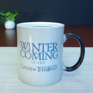 11oz heat sensitive color changing mugs for sublimation game of thrones cup mug
