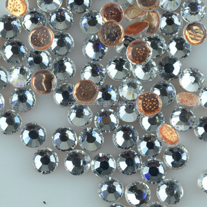 Imitated Austrian High shining hotfix rhinestones for wedding dresses