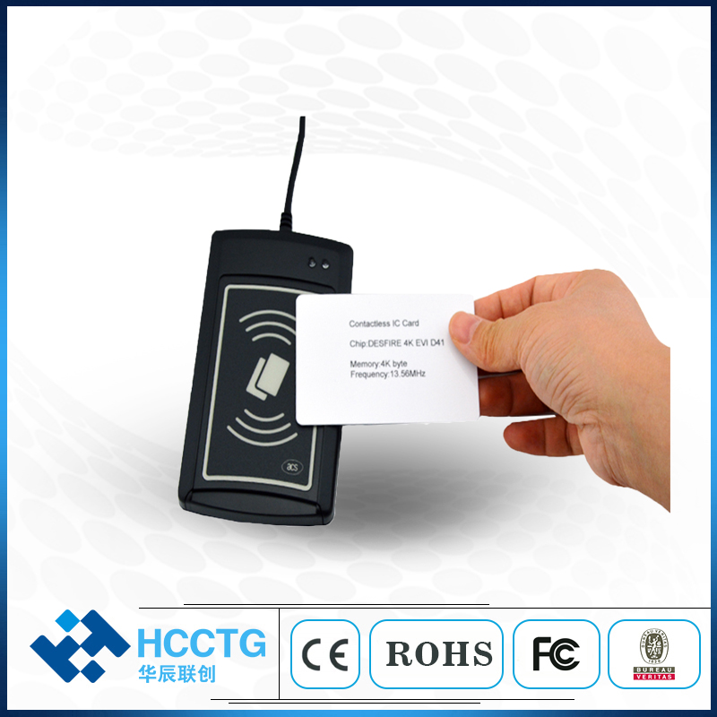 RS232 NFC Contactless ISO14443 Smart Card Reader ACR1281S-C8