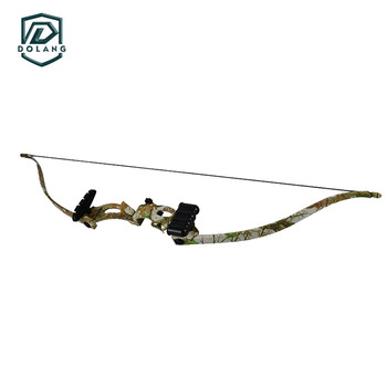 Camo 48 Recurve Bow 20lbs Draw Weight 28 Draw Length Women