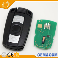 434MHz Folding remote key wireless remote control duplicator car key for bmw