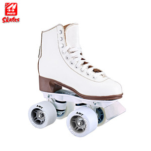 Hot Sell Roller Ski Ice Speed Racing Professional Girls Double Row Skates Shoes