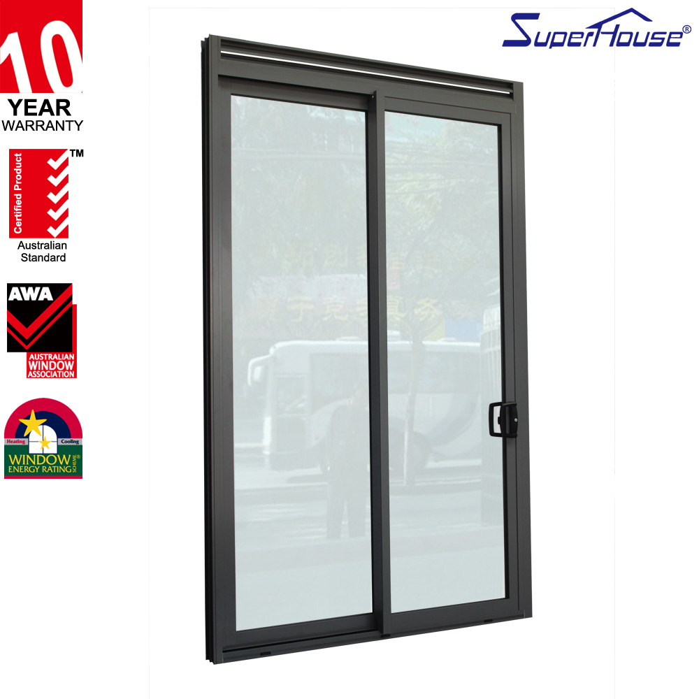 Miami-Dade County Approved NFRC Hurricane impact resistant glass sliding door