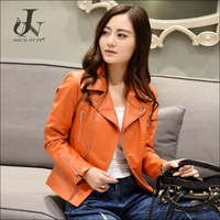 Haining Supplier Womens Real Lamb Fur Leather Jackets Sheepskin Coats