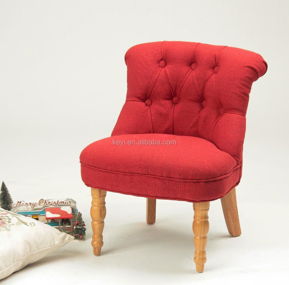 Kinderkamer meubels knop ontwerp kinderstoel/kinderen stof ...