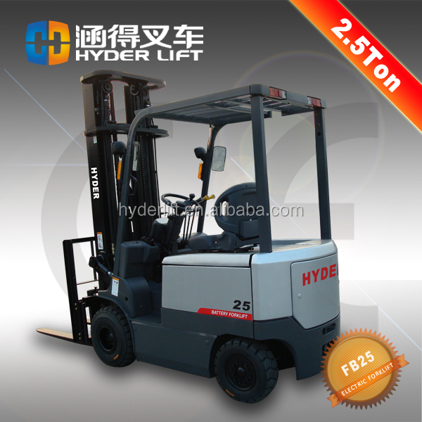 2500kg capacity electric telescopic handler manufacture forklift for sale