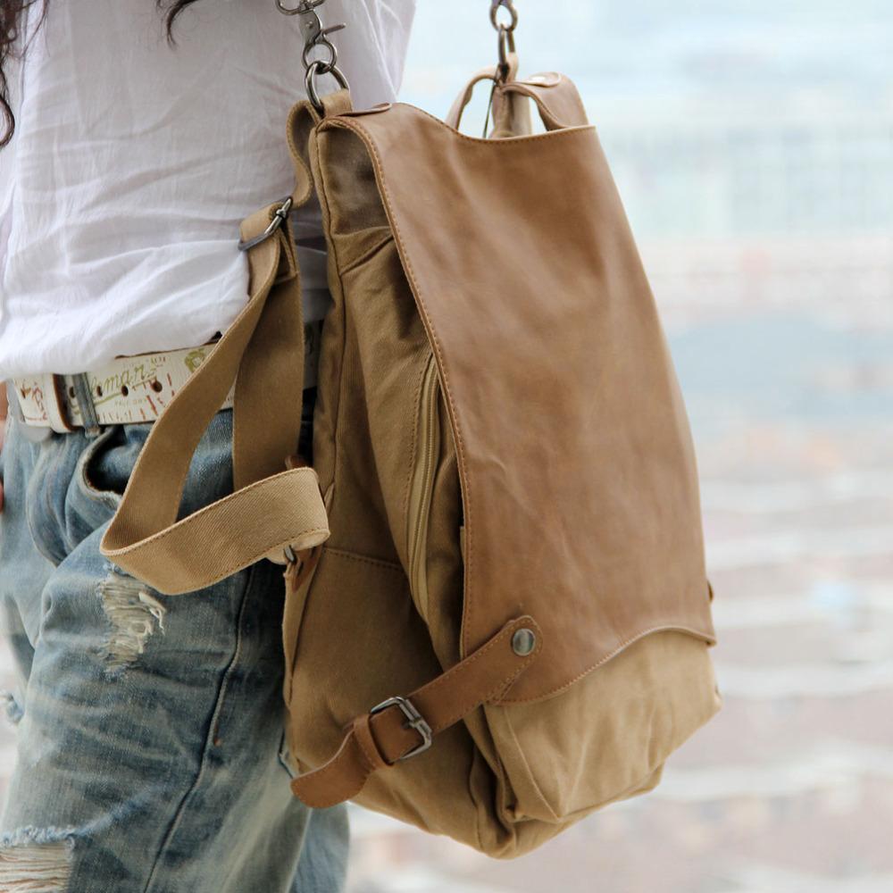 b063bb676 2015 Fashion New Korean Female Shoulder Bag Multifunctional Women Sport  Canvas Travle Portable Crossbody School Bag