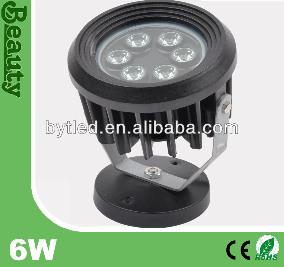 outdoor architecture high intensity projector IP65 6w led flood light(CE/ROHS)