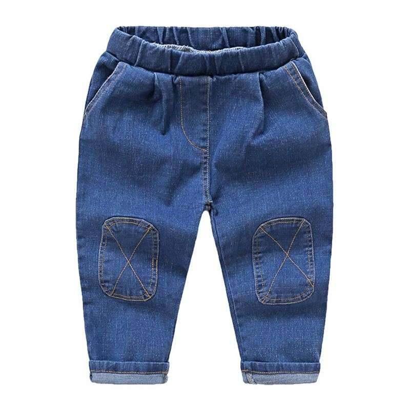 Pencil Baby Clothes Fabric Jeans Pants Trousers For Boys Kids Child Wholesale Innovative Products For Sell