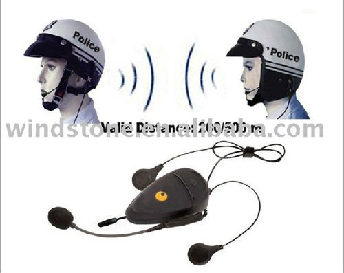 500m Bluetooth Motorcycle Helmet Headset Interphone with FM MP3 Player for Bicycle
