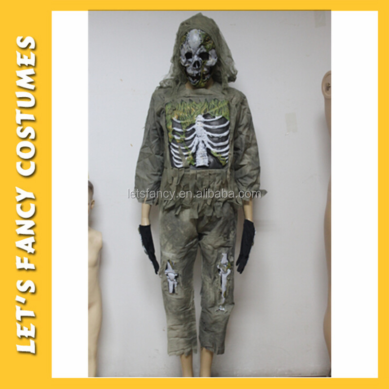 PGCC-0100 Best selling ghost costumes for kids halloween clothing costume party