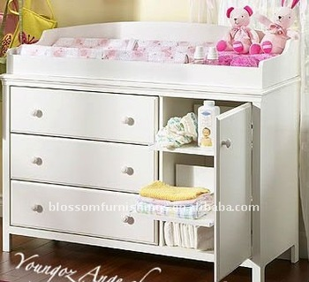 Superieur White Change Table/baby Change Table