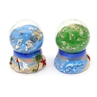 Holiday gift big size DIY Big Size Snow Globe London resin custom made cheap snow globe for souvenir