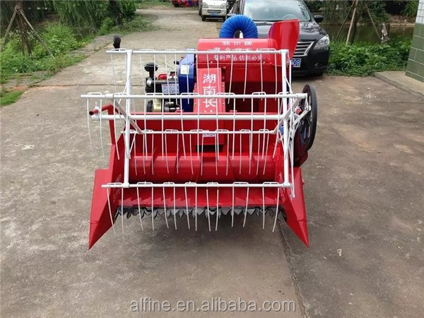 China manufacturer good performance mini rice harvester philippines