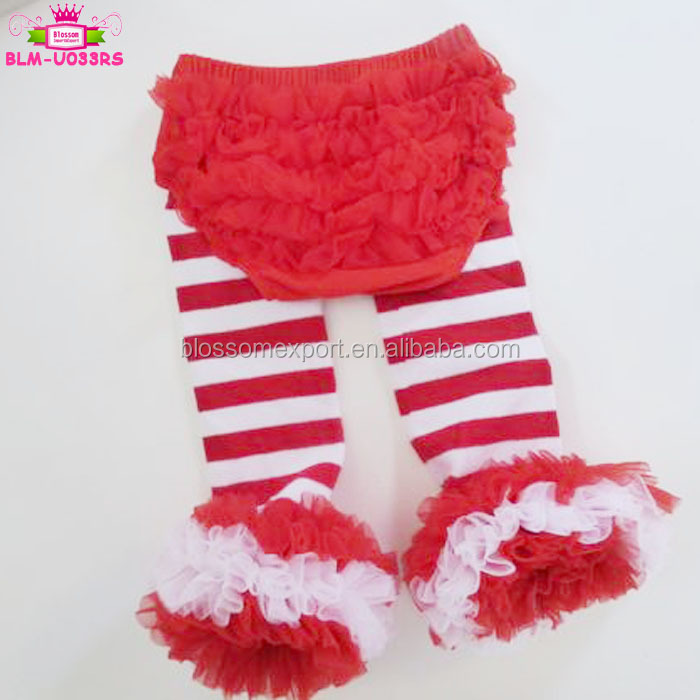 Wholesale Infant Toddler Diaper Cover Skirt Fluffy Ruffle Dusty Pink Tutu Bloomers For Baby Girls