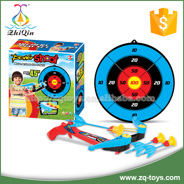 Outdoor plastic target shooting toys for children