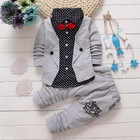 Kids wear boys dress clothes baby boy formal wear children's dress suits cute baby boy outfits